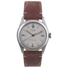 Rolex Stainless Steel Oyster manual wind Wristwatch Ref 6082, circa 1952