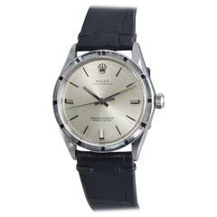Rolex Stainless Steel Oyster Perpetual circa 1969-1970 with Machined Bezel