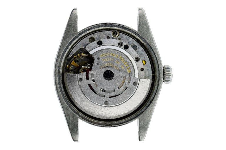 Rolex Stainless Steel Oyster Perpetual Date Custom Dial, circa 1970s For Sale 1