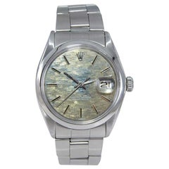 Rolex Stainless Steel Oyster Perpetual Date Ref. 1500 Original Dial, from 1970