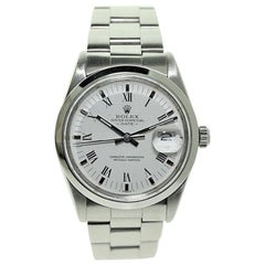 Rolex Stainless Steel Oyster Perpetual Date Ref 15000, Late 1980's