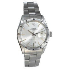 Rolex Stainless Steel Oyster Perpetual Date Ref 1501, Dated 1972