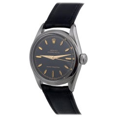 Rolex Stainless Steel Oyster Royal manual wind wristwatch Ref 6444, circa 1956