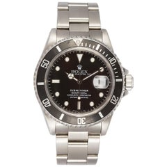 Rolex Stainless Steel Submariner 16610 Automatic Men's Watch