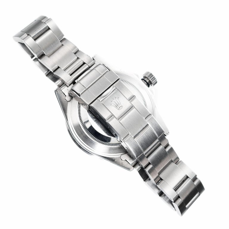 Rolex Stainless Steel Submariner Men's Wristwatch For Sale 1
