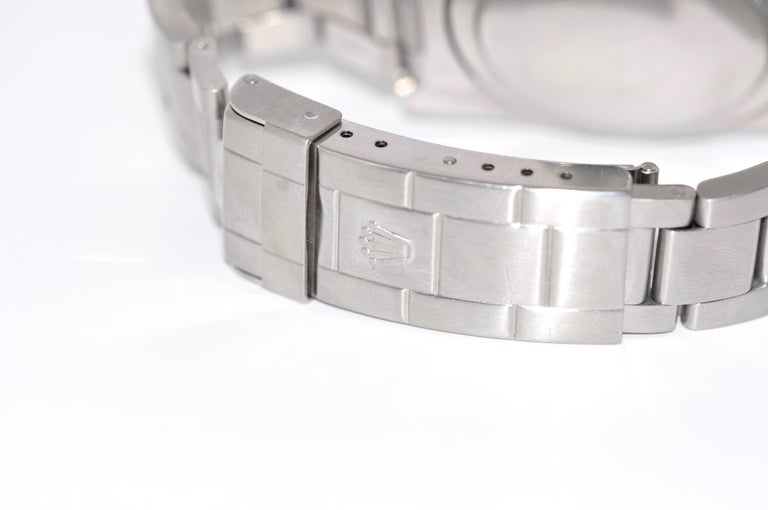 Rolex Stainless Steel Submariner Oyster Perpetual Wristwatch, circa 1977 For Sale 1