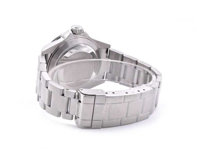 Men's Rolex Stainless Steel Submariner Watch Ref. 16610