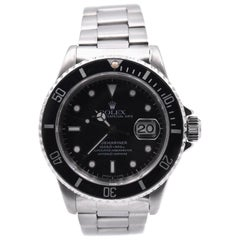 Rolex Stainless Steel Submariner Watch Ref. 16610