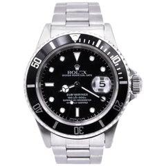 Rolex Stainless Steel Submariner Watch Ref. 1680