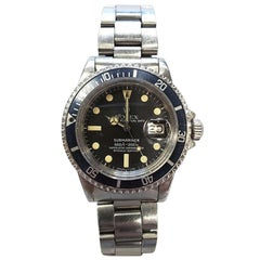 Rolex Stainless Steel Vintage 1978 Submariner Ref 1680