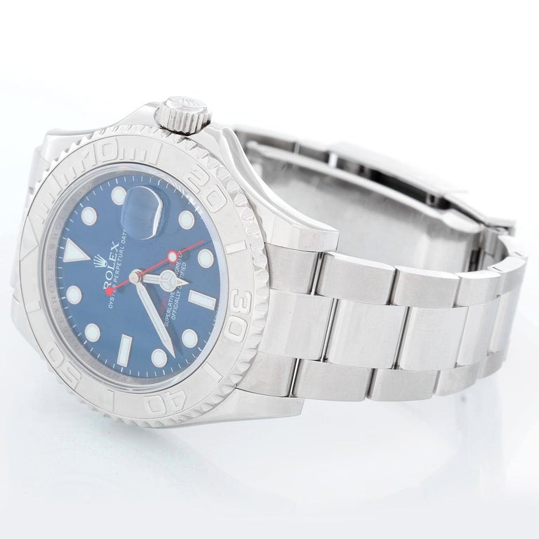 Men's Rolex Stainless Steel Yacht-Master Automatic Wristwatch Ref 116622 For Sale
