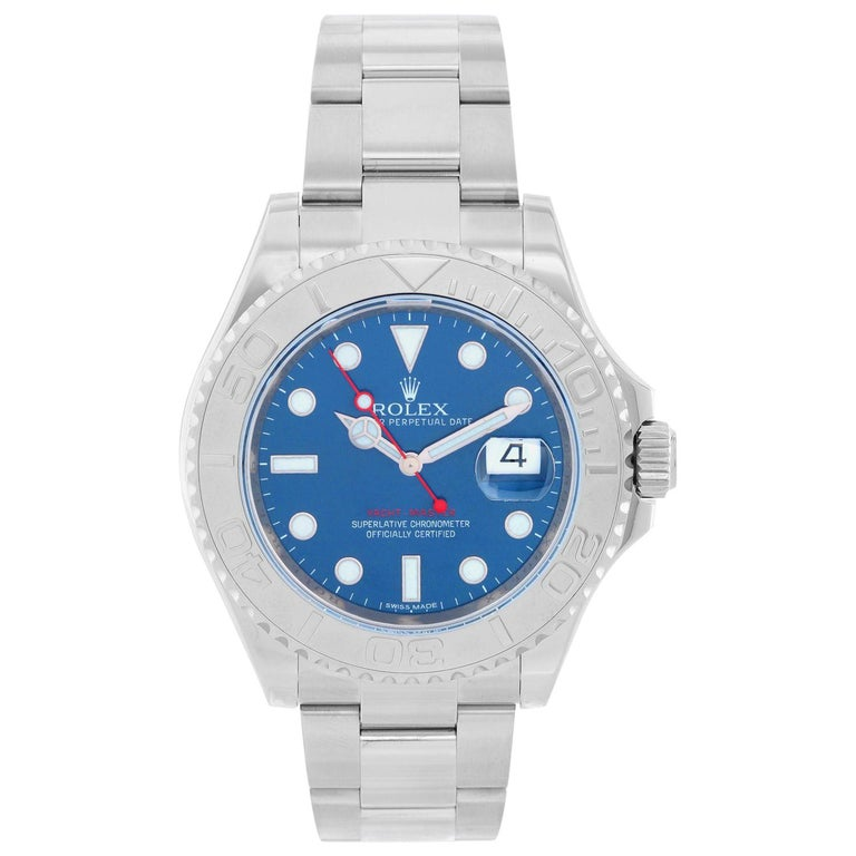 Rolex Stainless Steel Yacht-Master Automatic Wristwatch Ref 116622 For Sale