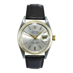 Rolex Steel and Gold Oyster Perpetual Datejust from 1956 with Original Dial