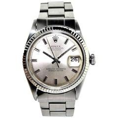 Rolex Steel Datejust Ref 160 Original Folded Link Oyster Bracelet Watch 1970