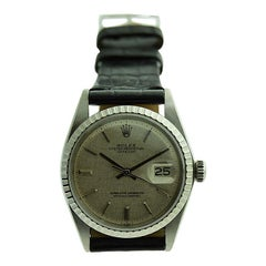 Rolex Steel Datejust with Original Dial from 1970's