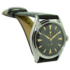 Rolex Steel Early Oyster with Original Super Oyster Crown from 1952-1953