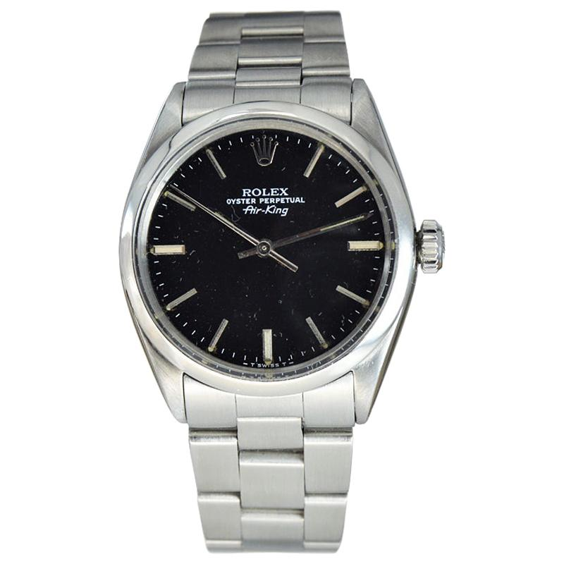 Rolex Steel Oyster Perpetual Air King, 1970s