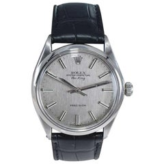 Rolex Steel Oyster Perpetual Air King Ref. 5500 Original Dial from 1973-74
