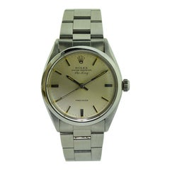 Rolex Steel Oyster Perpetual Classic Air King from 1977 or 1978
