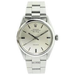 Rolex Steel Oyster Perpetual Classic Air King from 1979 or 1980