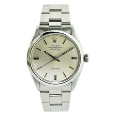 Rolex Steel Oyster Perpetual Classic Air King, Late 1970's