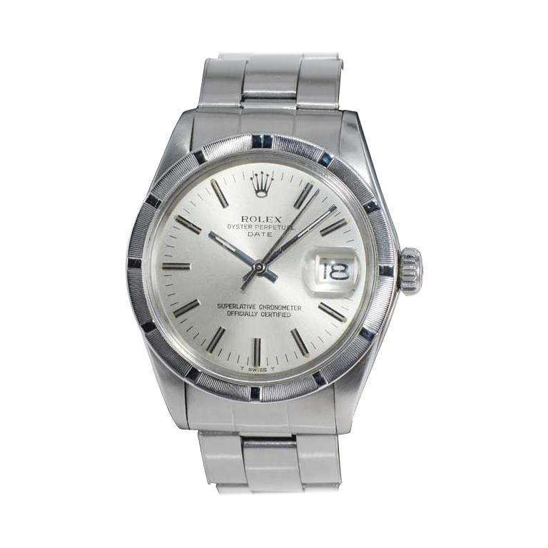 Rolex Steel Oyster Perpetual Date Ref. 1501 All Original From Mid 1970's
