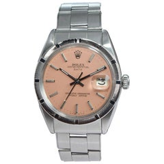 Rolex Steel Oyster Perpetual Date Ref. 1501 with Classic Indexed Bezel, Mid 1960