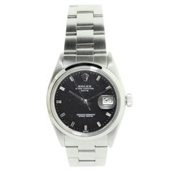 Rolex Steel Oyster Perpetual Date with Original Bracelet, circa 1968 or 1969