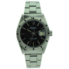 Rolex Steel Oyster Perpetual Date Wristwatch All Original, circa 1964 or 1965