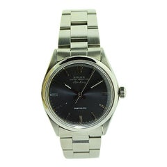 Rolex Steel with Original Charcoal Dial from 1971 or 1972