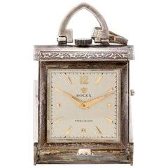 Rolex Sterling Silver Manual wind Purse Watch, Circa 1930s