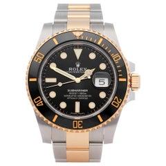 Rolex Submariner 0 116613LN Men Yellow Gold & Stainless Steel 0 Watch