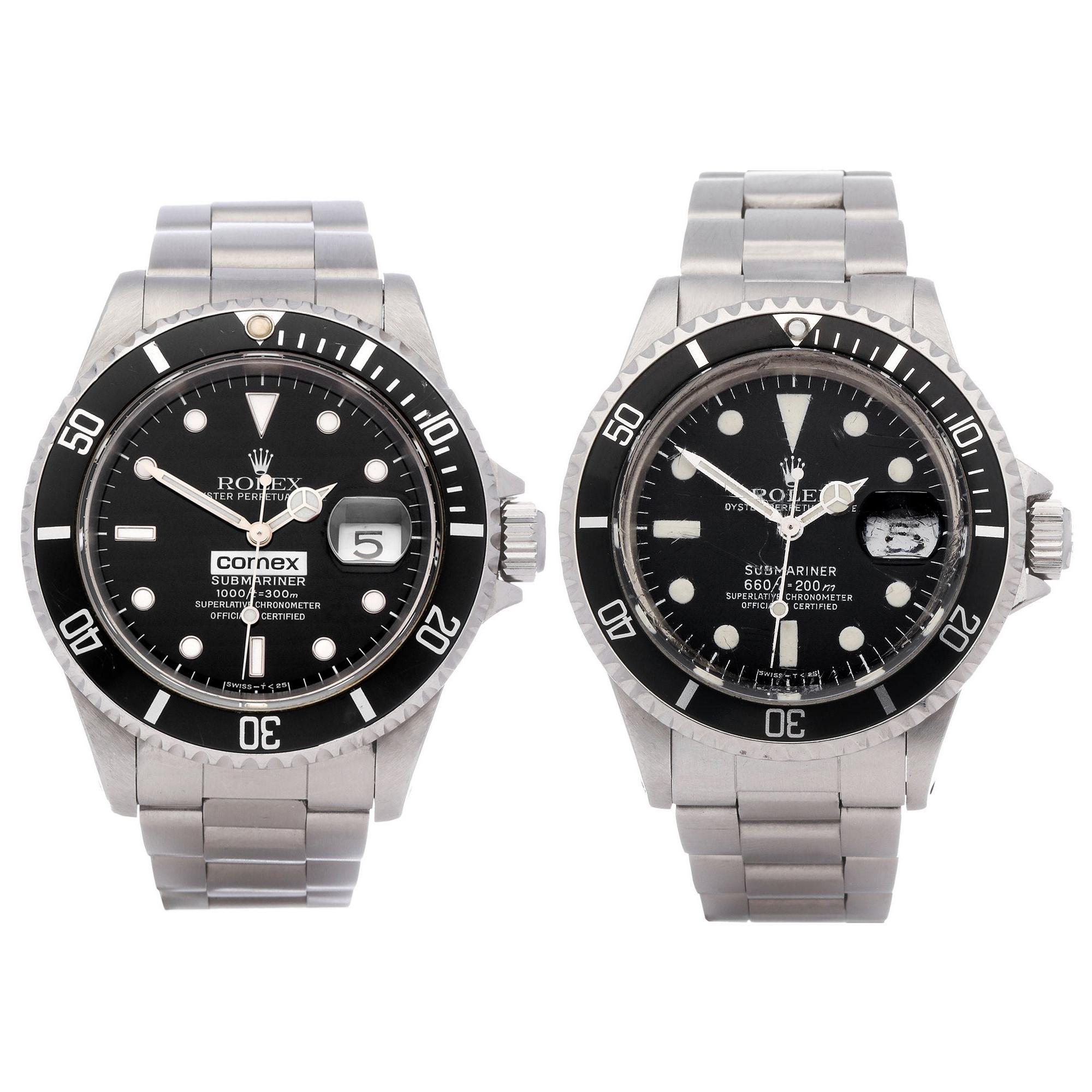 Rolex Submariner 0 16610 Men Stainless Steel Comex Watch