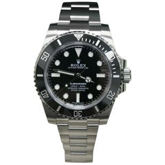 Rolex Submariner 114060 Black Ceramic Stainless Steel Box Papers 2019