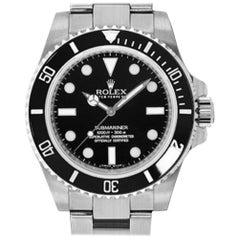 Rolex Submariner 114060, Case, Certified and Warranty