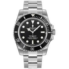 Rolex Submariner 114060 Ceramic New Condition Automatic Men's Watch