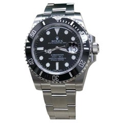 Brand New Rolex Submariner 116610 Black Ceramic Stainless Steel Box and Paper