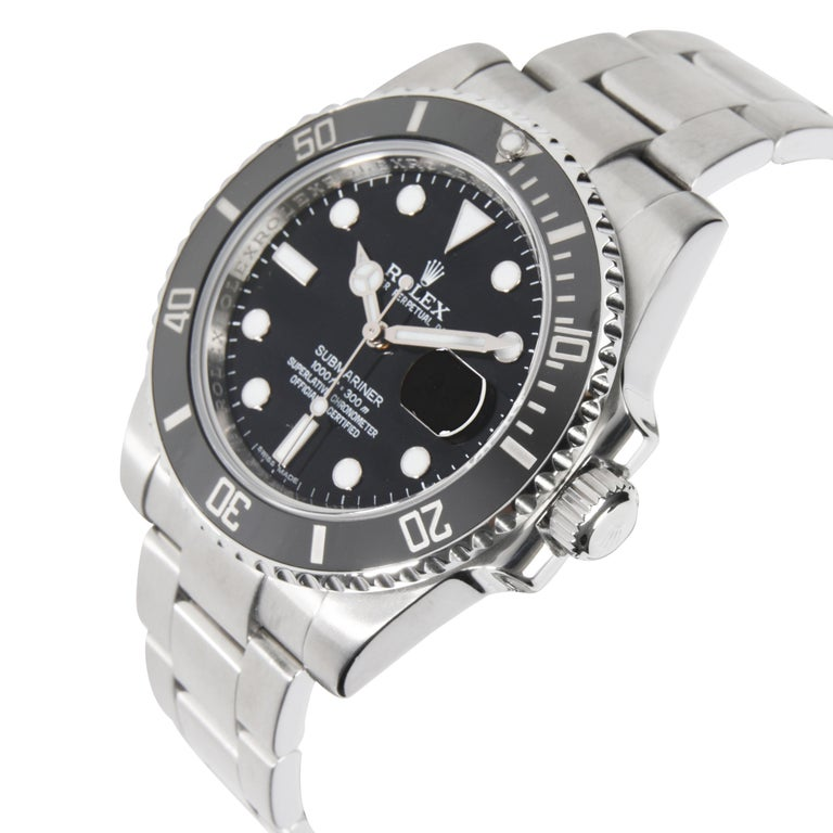 Rolex Submariner 116610 Men's Watch in Stainless Steel In Excellent Condition In New York, NY