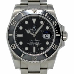 Rolex Submariner 116610 Steel Black Ceramic 2013 Box/Paper/2 Year Warranty
