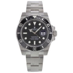Rolex Submariner 116610LN Date Steel and Ceramic Automatic Men's Watch