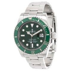 """Rolex Submariner 116610LV Hulk """"Men's Watch in Stainless Steel"""""""
