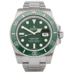 Rolex Submariner 116610LV Men Stainless Steel Stickered NOS Watch