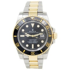 Rolex Submariner 116613, Black Dial, Certified and Warranty