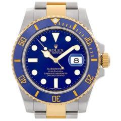 Rolex Submariner 116613, Blue Dial, Certified and Warranty