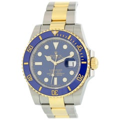 Rolex Submariner 116613 Men's Watch Box Papers