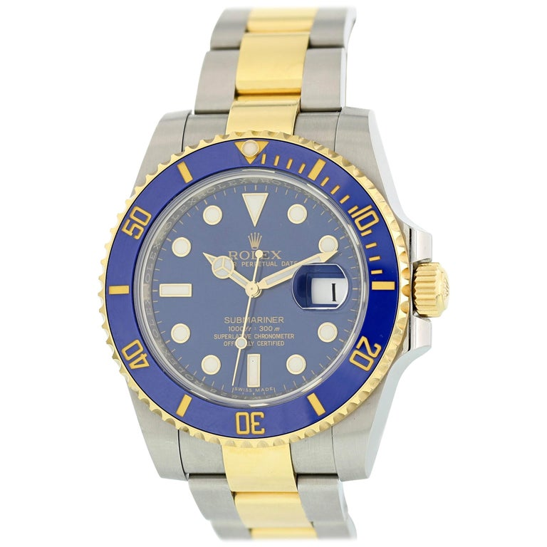 Rolex Submariner 116613 Men's Watch Box Papers For Sale