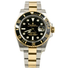 Rolex Submariner 116613, Silver Dial, Certified and Warranty