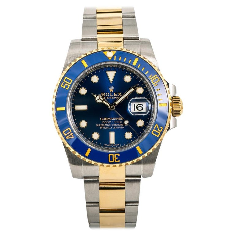 Rolex Submariner 116613, White Dial, Certified and Warranty For Sale