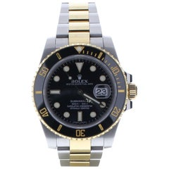 Rolex Submariner 116613 with Band, Ceramic Bezel and Black Dial