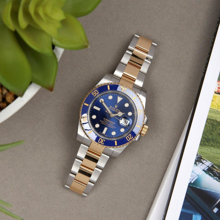 Rolex Submariner 116613LB Men's Yellow Gold & Stainless Steel Watch 8